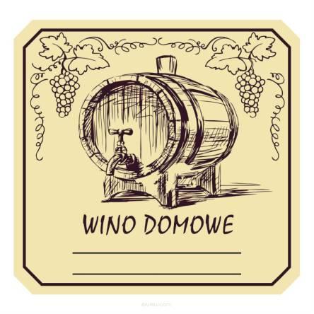 Naklejki Etykiety Na Wino Domowe Butelki Butelkę 20 Szt